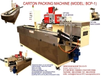 SEMI-AUTO CARTON MACHINE