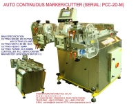 AUTO CONTINUOUS MARKER CUTTER